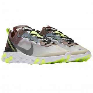 Nike limited edition React Element 87 desert sand trainers