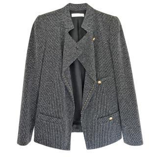 Chloe chain embellised blazer