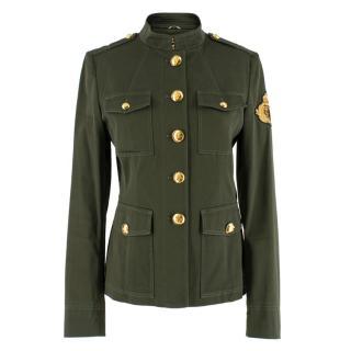 Emilio Pucci Green Military Jacket