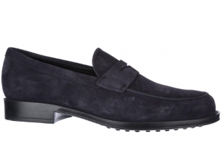 Tod's Suede Classic Moccasin Loafers