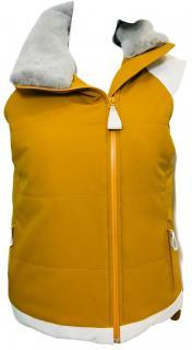Hermes Mink & Leather Ski Gilet