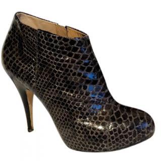 Giuseppe Zanotti Grey python Boots 38.5