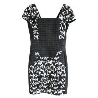 Antonio Berardi  Black & White Multi Panel Dress NWT IT40/UK8