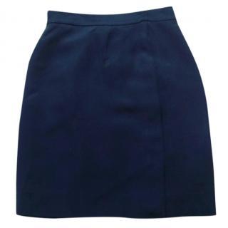 Moschino Cheap and Chic Navy Blue Skirt