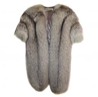 Vintage bespoke Arctic Fox Shrug/stole
