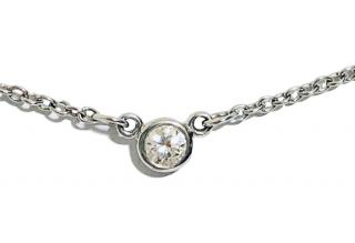 Tiffany Platinum Diamond Necklace