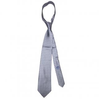 Hermes blue chain link tie brand new with tag RRP �160