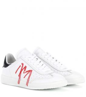 Isabel Marant embroidered white sneakers