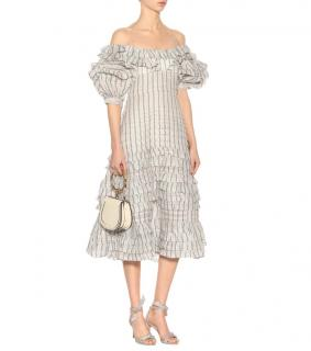 Zimmermann Painted Heart Folds Dress