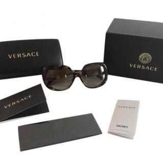Versace tortoise shell effect Sunglasses