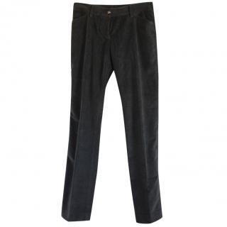 Dolce & Gabbana Velvet Pants