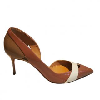 Sergio Rossi patent 70mm pumps