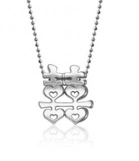 Alex Woo Chinese Double Happiness Necklace