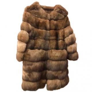 Bespoke Russian Sable fur coat