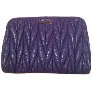 Miu Miu matelasse clutch bag