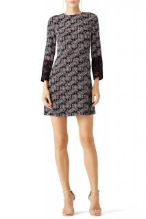 Derek Lam 10 Crosby foulard floral print silk dress