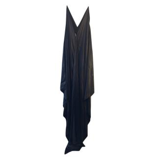 Alexis Mabille adjustable silk fishtail draped gown