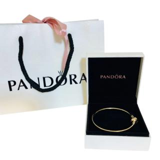 Pandora 14kt Gold Bangle