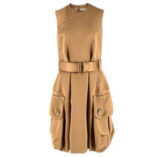 Marc Jacobs Gold Silk Dress