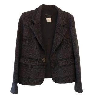 Chanel Brown Tweed Blazer