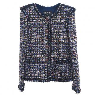 Chanel Multicolour Tweed Jacket