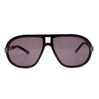 Loewe Black Rectangle Sunglasses
