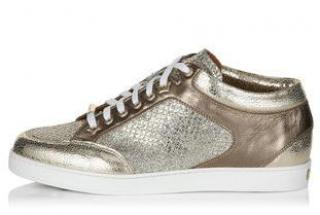 Jimmy Choo Glitter Trainers