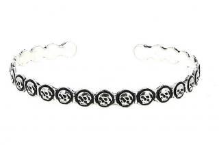 Pyrrha Charm Multi Skull Talisman Bracelet