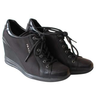 Prada Wedge Sneakers