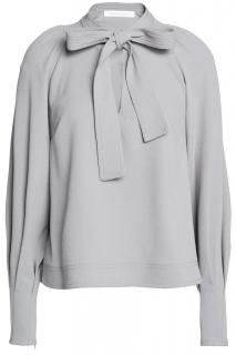 See by Chloe crepe tie neck blouse