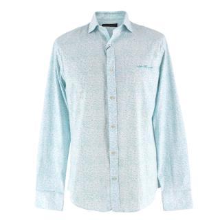 Salvatore Ferragamo Abstract Printed Shirt