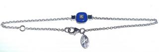 Nikos Koulis Blue & White Diamond Bracelet 18ct Gold
