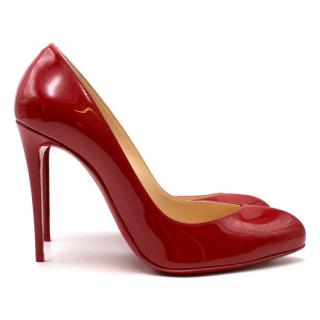 Christian Louboutin Red Patent 100 Pumps