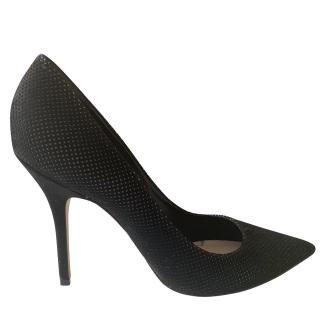 Christian Dior perforated suede stiletto pumps