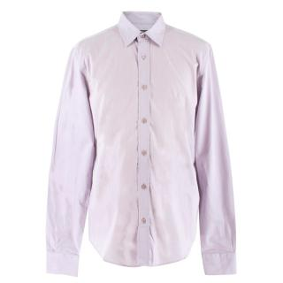 Salvatore Ferragamo Lilac Cotton Shirt