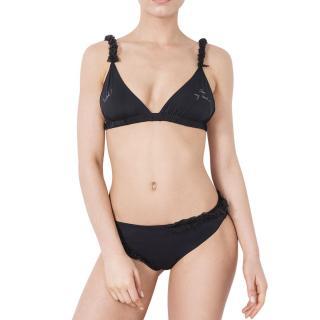 Moré Noir 'Woh! Take my hand...' Silky Wings Bikini Set