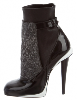 Fendi Jodhpur Stingray Booties