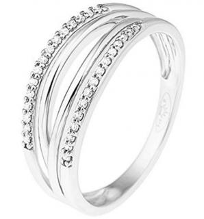 & You Diamond Anniversary Band White Gold