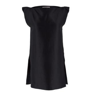 Alessandra Rich Black Cotton Tunic