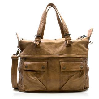 Belstaff Leather Hold All Bag