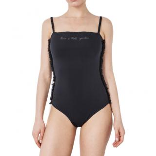 More Noir 'Monaco Rock & Roll goddess' Swimming Costume
