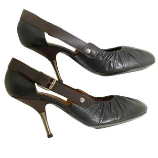 Dries van Noten shoes hardly worn in excellent condition black leather