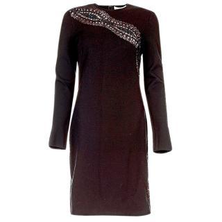 Emilio Pucci Black Embellished Dress