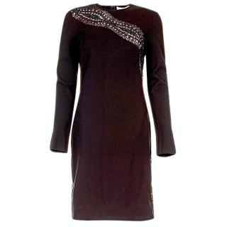 Emilio Pucci Black Embellished Dress