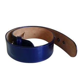 Alexander McQueen Patent Leather Belt