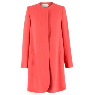 Goat Pink Wool Coat