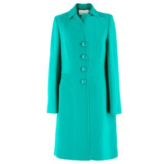 Goat Green Wool Coat