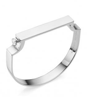 Monica Vinader Sterling Silver Signature Bangle