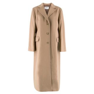 Johnstons of Elgin Cashmere Tan Coat