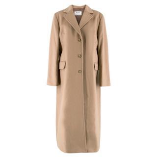 Johnstons of Elgin Cashmere Tan Coat